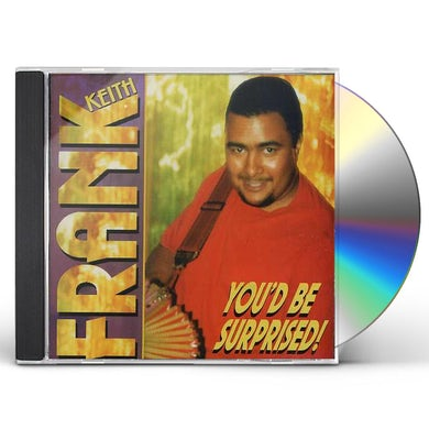 Keith Frank YOU'D BE SURPRISED CD