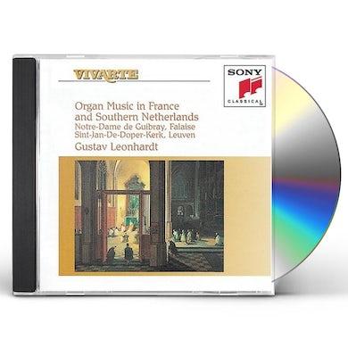 Gustav Leonhardt ORGAN MUSIC IN FRANCE & SOUTHERN NETHERLANDS CD