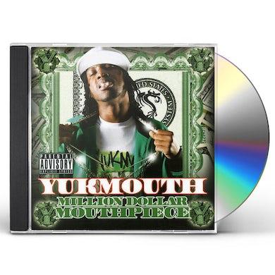 Yukmouth MILLION DOLLAR MOUTH PIECCE CD