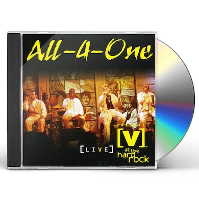 All-4-one LIVE AT THE HARD ROCK CD