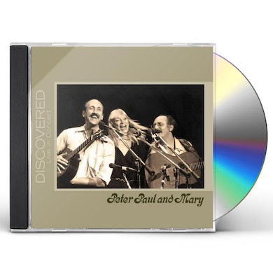 Peter Paul & Mary DISCOVERED: LIVE IN CONCERT CD