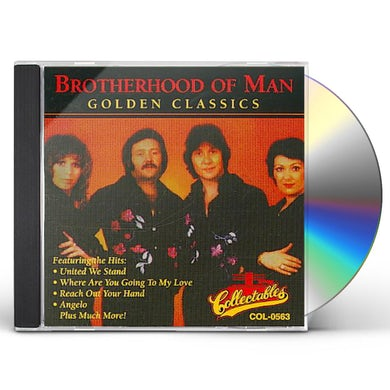 Brotherhood of Man GOLDEN CLASSICS CD