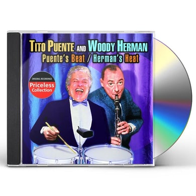 Tito Puente and Woody Herman PUENTE'S BEAT / HERMAN'S HEAT CD