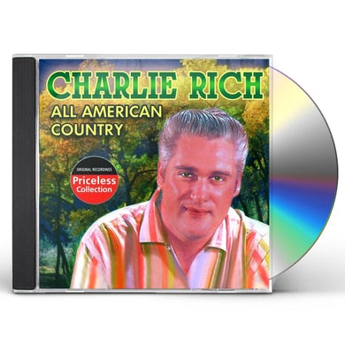 Charlie Rich ALL AMERICAN COUNTRY CD
