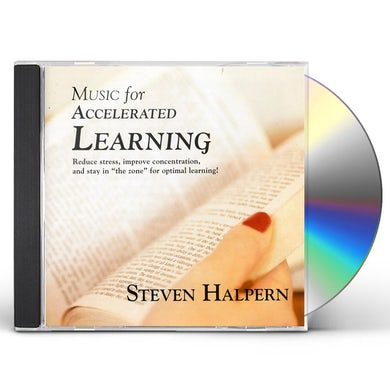 Steven Halpern MUSIC FOR ACCELERATED LEARNING CD
