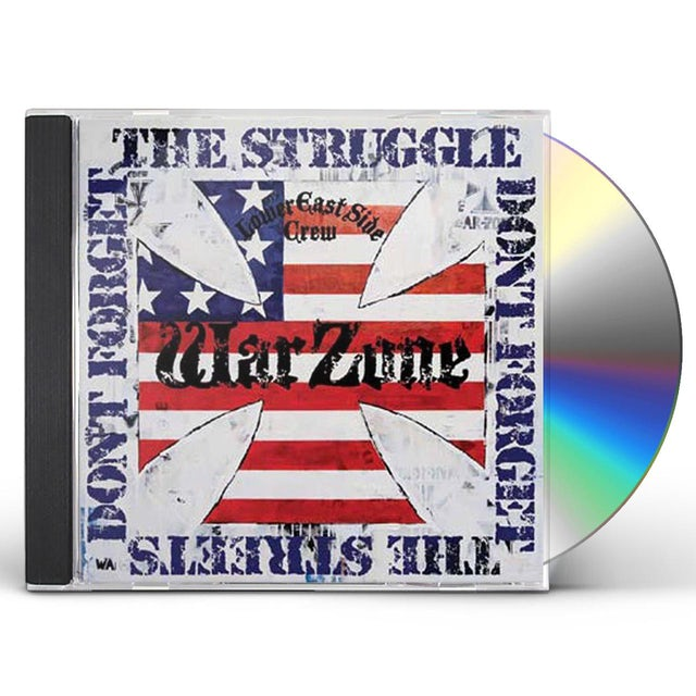 Warzone DON'T FORGET THE STRUGGLE DON'T FORGET THE STREETS CD