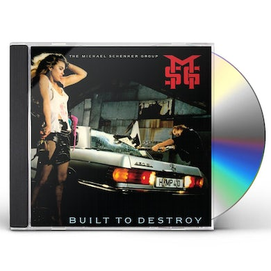 The Michael Schenker Group BUILT TO DESTROY CD