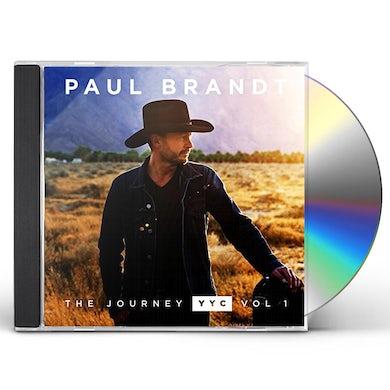 Paul Brandt JOURNEY YYC: VOL 1 CD
