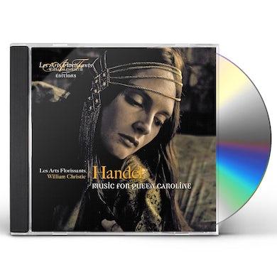 Handel MUSIC FOR QUEEN CAROLINE CD