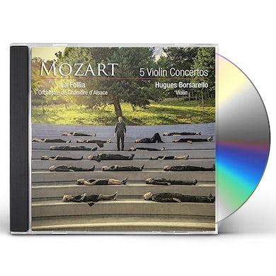 W.A. Mozart CONCERTOS POUR VIOLON K.207 211 2 CD