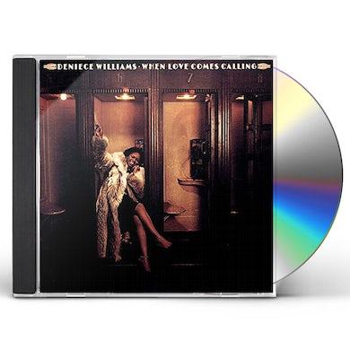 Deniece Williams WHEN LOVE COMES CALLING CD