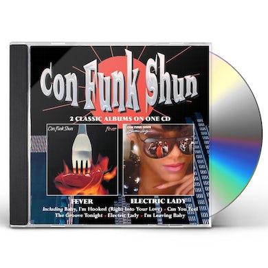 Con Funk Shun FEVER / ELECTRIC LADY CD