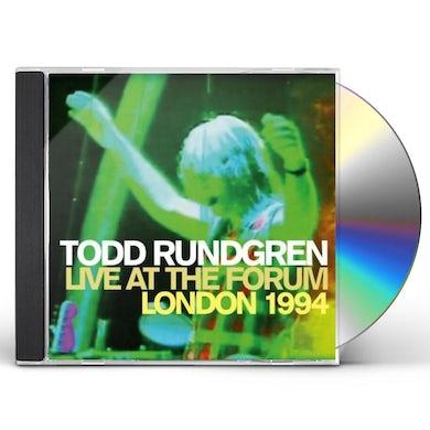 Todd Rundgren LIVE AT THE FORUM: LONDON 1994 CD