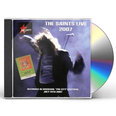 The Saints LIVE AT PIG CITY BRISBANE 2007 CD