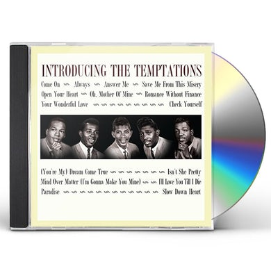 INTRODUCING THE TEMPTATIONS CD