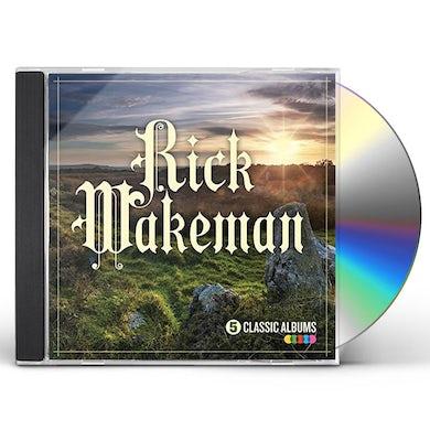 Rick Wakeman 5 CLASSIC ALBUMS CD