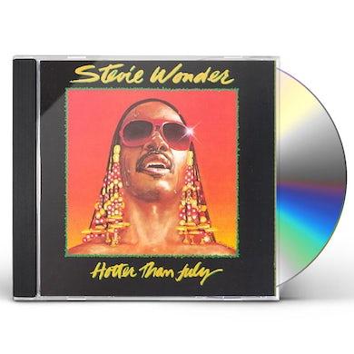 Stevie Wonder  HOTTER THAN JULY CD
