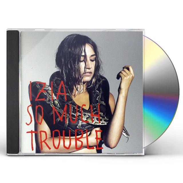 Izia SO MUCH TROUBLE CD