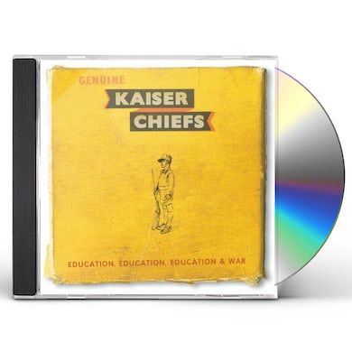 Kaiser Chiefs EDUCATION EDUCATION EDUCATION WAR CD