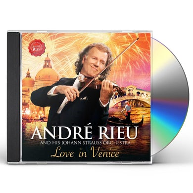 Andre Rieu LOVE IN VENICE: THE 10TH ANNIVERSARY CONCERT CD