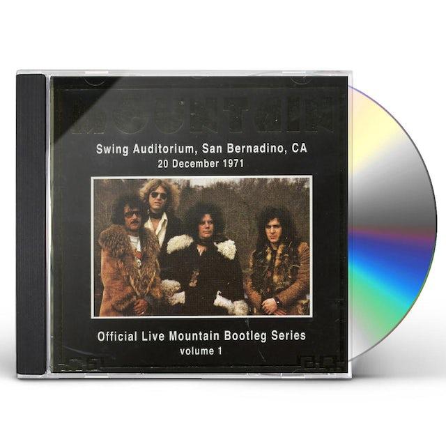 Mountain OFFICIAL BOOTLEG 1: LIVE AT SAN BERNARDINO 1971 CD