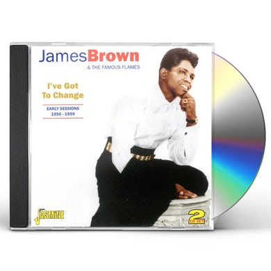 James Brown EARLY SESSIONS 1956-59 CD