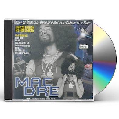 Mac Dre Heart of the Gangsta: Mind of a Hustla CD