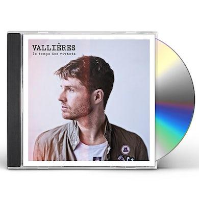 Vincent Vallieres LE TEMPS DES VIVANTS CD