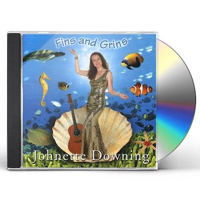 Johnette Downing FINS & GRINS CD