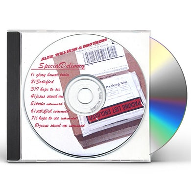 Alex Williams SPECIAL DELIVERY CD