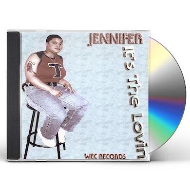 Jennifer ITS THE LOVIN CD