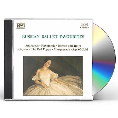 Gliere RUSSIAN BALLET FAVORITES CD