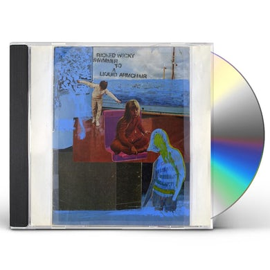 RICKED WICKY SWIMMER TO A LIQUID ARMCHAIR CD