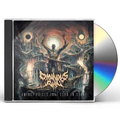 Ominous Ruin AMIDST VOICES THAT ECHO IN STONE CD