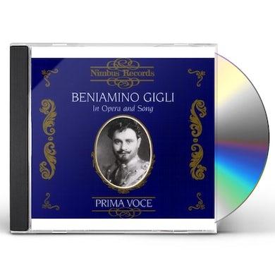 Beniamino Gigli IN OPERA & SONG CD