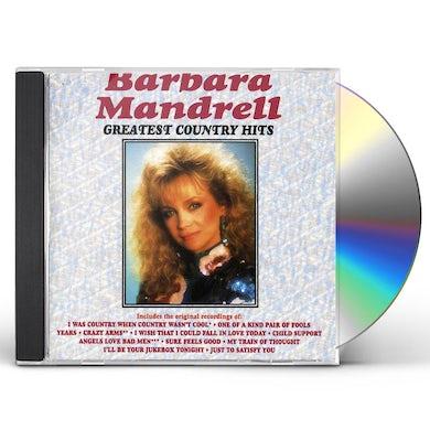 Barbara Mandrell GREATEST COUNTRY HITS CD