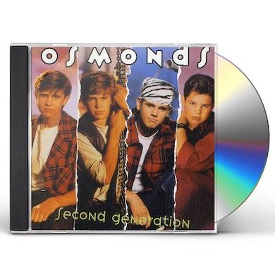 Osmonds SECOND GENERATION CD