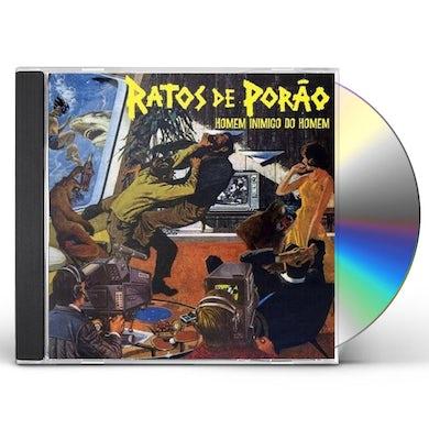 Ratos De Porao HOMEM INIMIGO CD