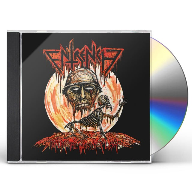 Entrench THROUGH THE WALLS OF FLESH CD
