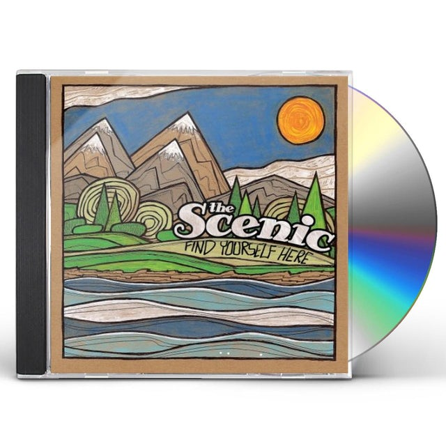 Scenic FIND YOURSELF HERE CD