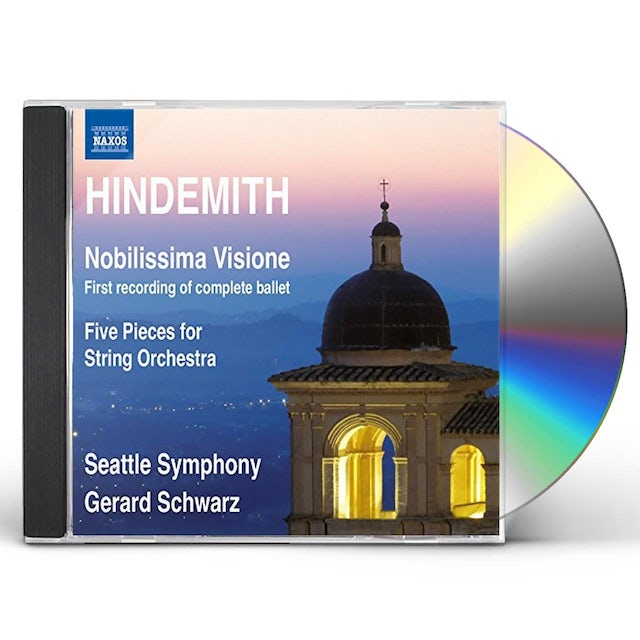 Hindemith NOBILISSIMA VISIONE & FIVE PIECES FOR STR ORCH CD