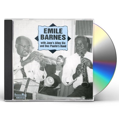 Emile Barnes WITH JANE'S ALLEY SIX & DOC CD