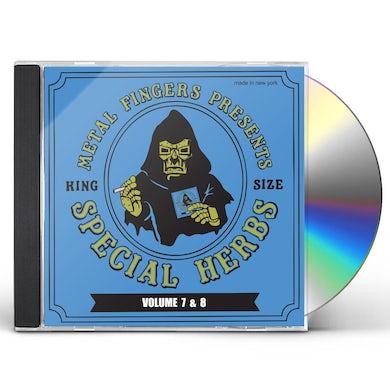 MF DOOM SPECIAL HERBS 7 & 8 CD
