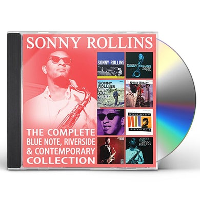 Sonny Rollins COMPLETE BLUE NOTE RIVERSIDE & CONTEMPORARY COLL CD