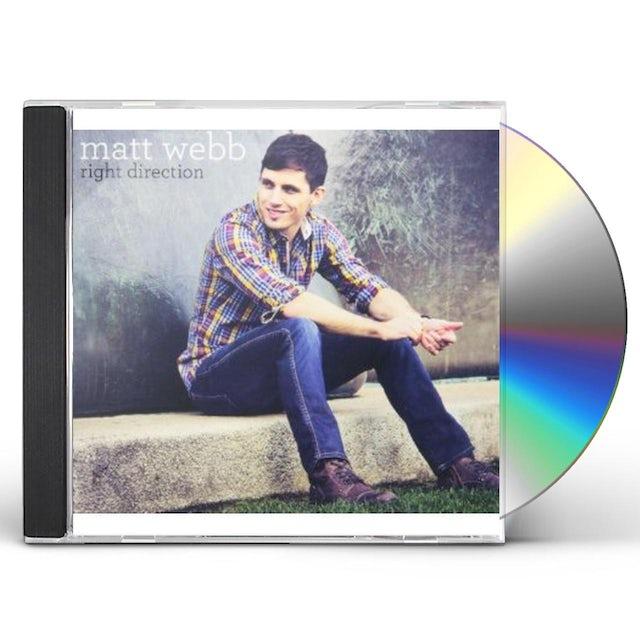 Matt Webb RIGHT DIRECTION CD