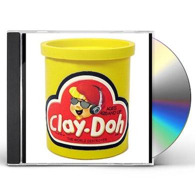 Clay-Doh The World Destroyer HUMAN SACRIFICE CD