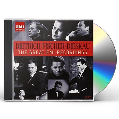 Dietrich Fischer-Dieskau GREAT EMI RECORDINGS CD