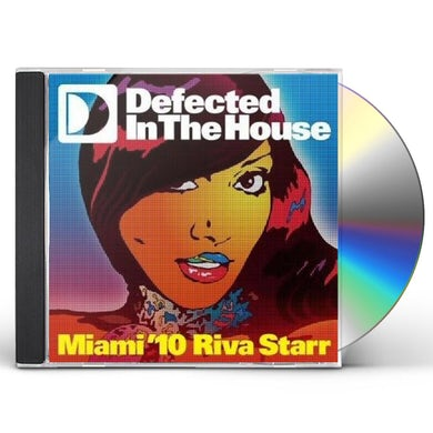 Riva Starr DEFECTED IN THE HOUSE: MIAMI 10 CD
