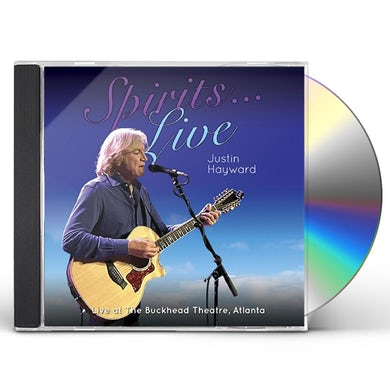 Justin Hayward SPIRITS: LIVE - LIVE AT THE BUCKHEAD THEATER ATL CD