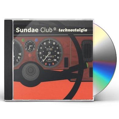 Sundae Club TECHNOSTALGIA CD